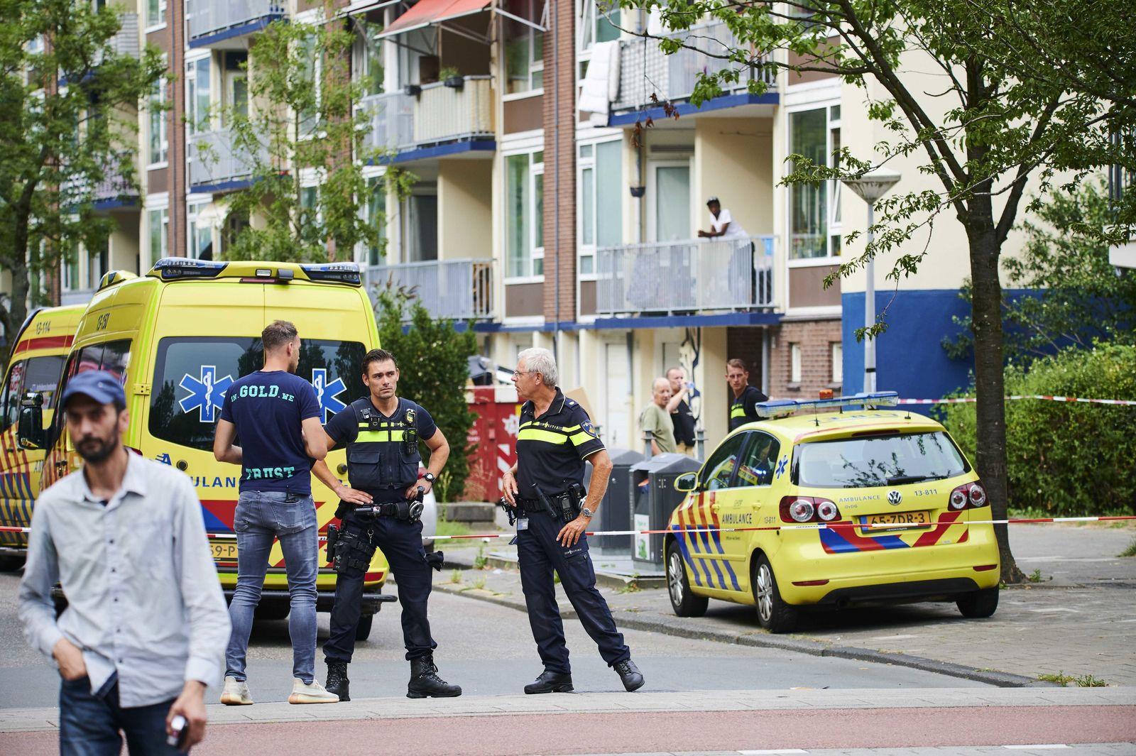 Deutscher in Amsterdam erschossen
