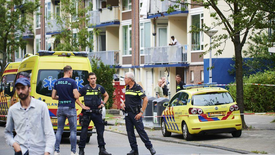 Einsatzkräfte in Amsterdam: Mann nach Schüssen von Polizisten gestorben