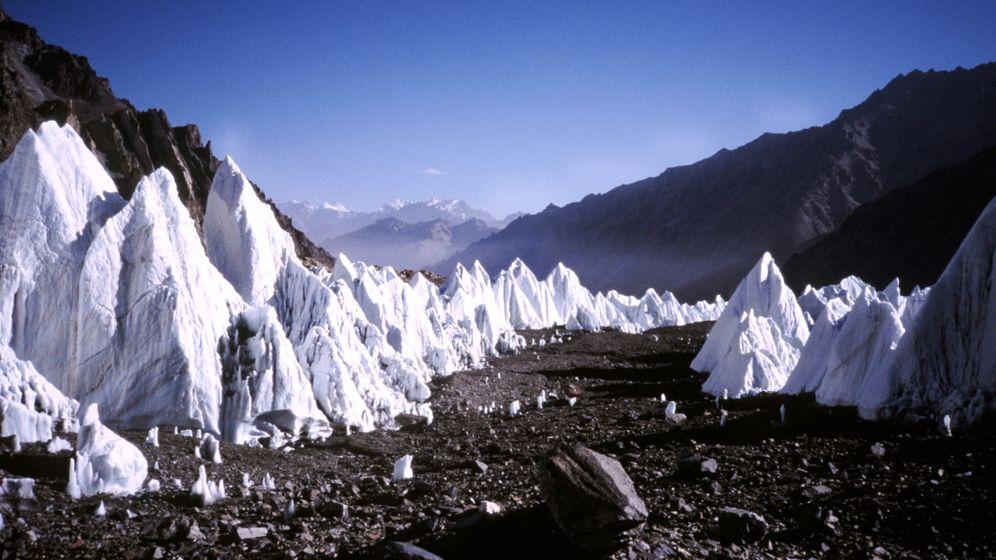 China: Weiße Pracht schmilzt dahin