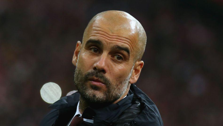 Bayern-Trainer Guardiola: Wird seinen Vertrag wohl nicht verlängern