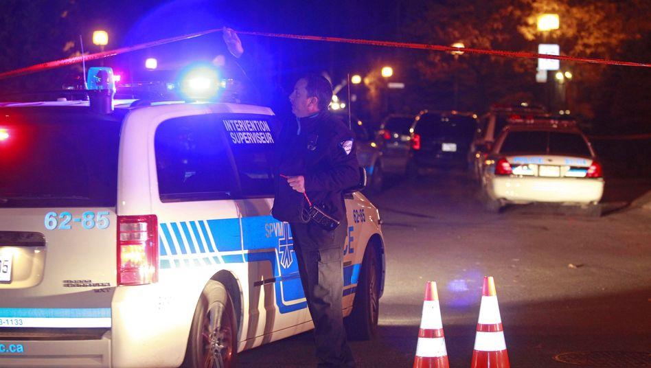 Polizisten in Montreal (November 2010): Morduntersuchung im Fall Nicolo Rizzuto
