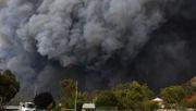 Buschfeuer treiben CO2-Emissionen in die Höhe