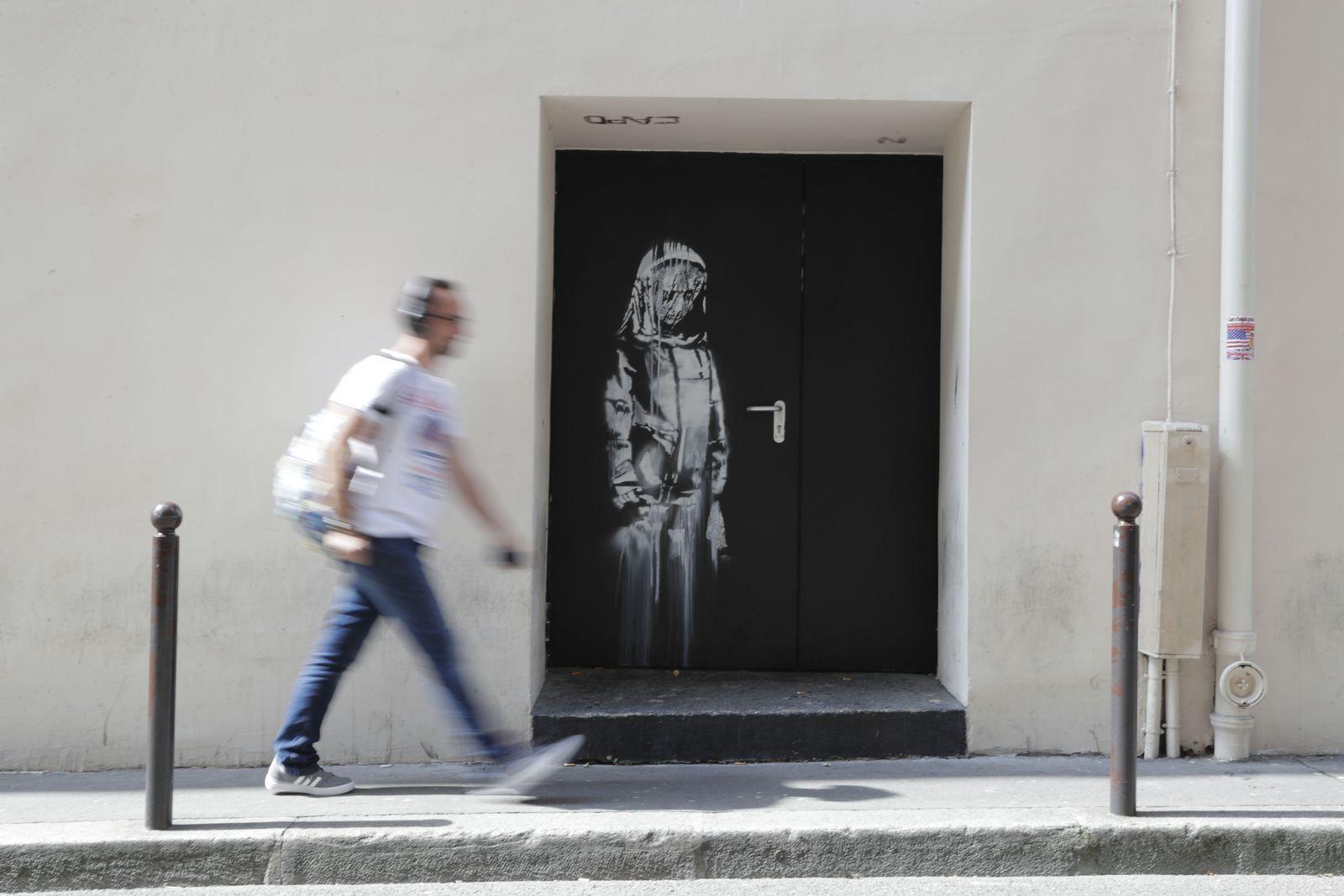 FRANCE-STREET-ART-BANSKY