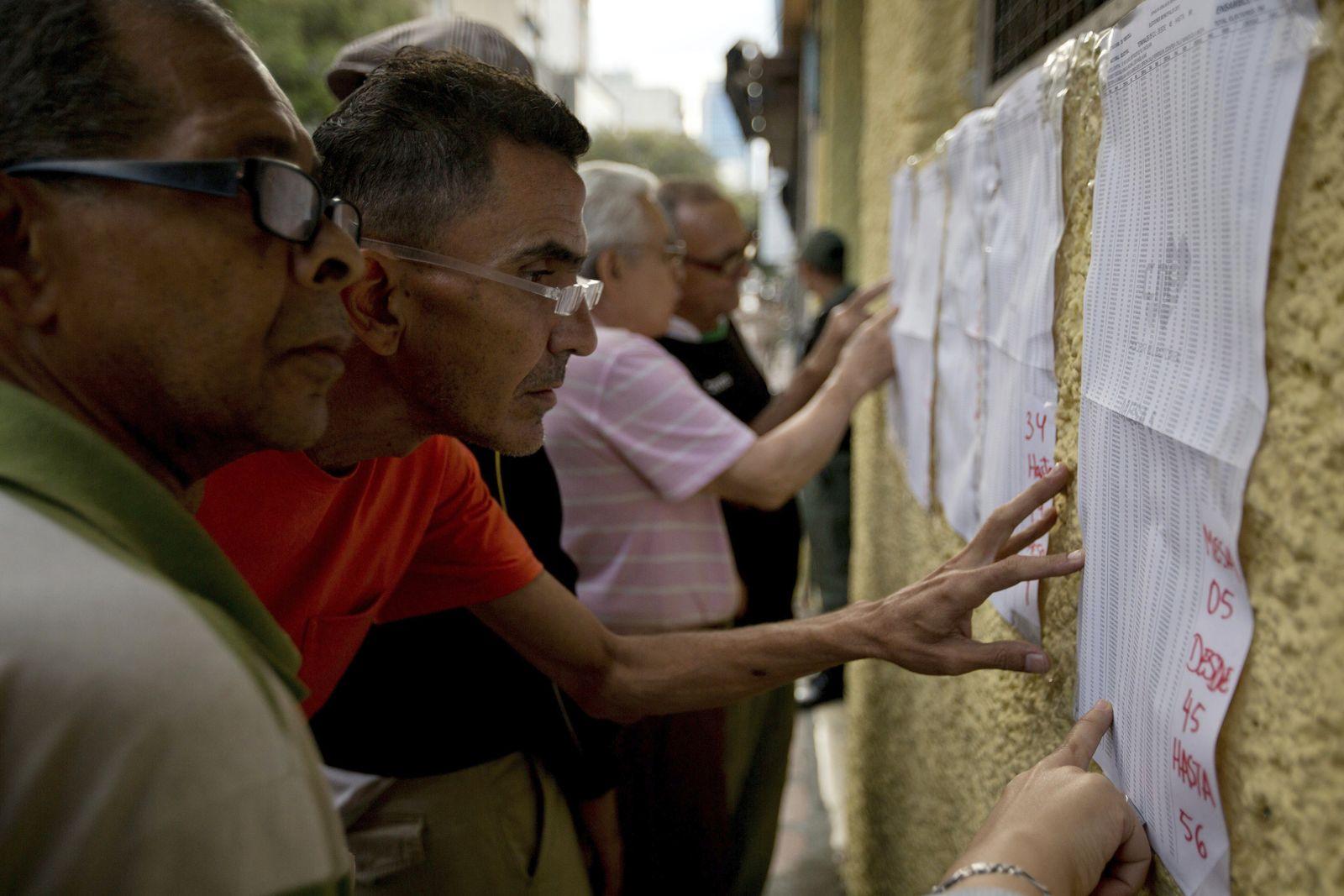 APTOPIX Venezuela Mayoral Elections