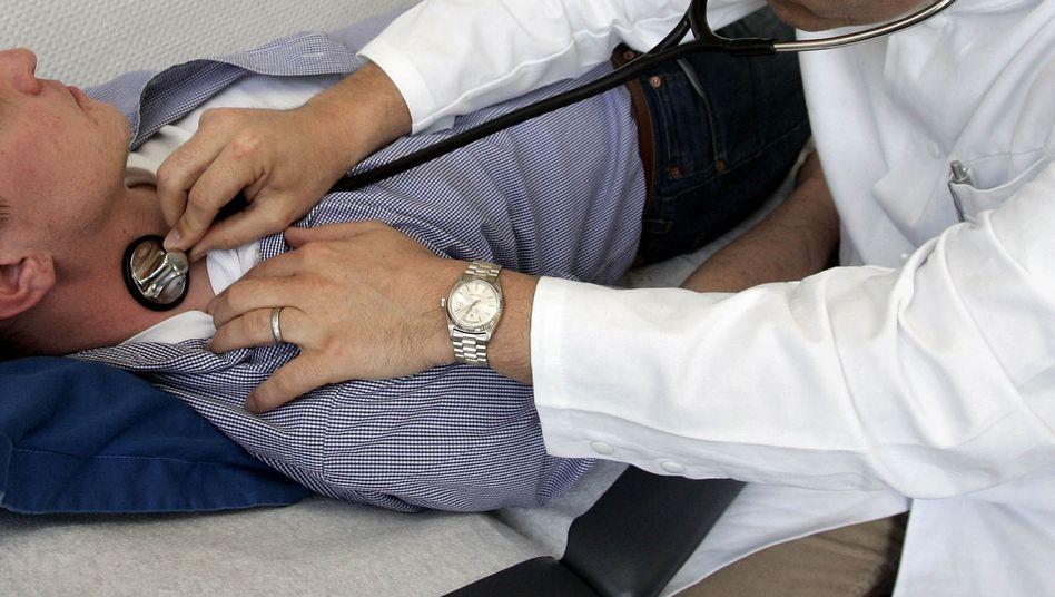 Patient: Erstmal testen, ob der Zusatzbeitrag funktioniert