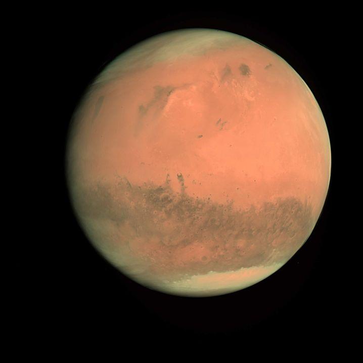 Esa-Aufnahme des Mars