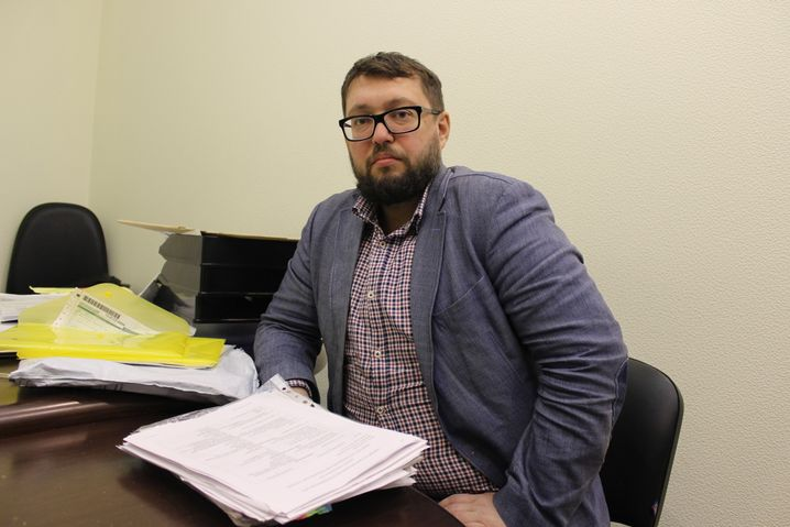 Anwalt Arkadij Tschapligin
