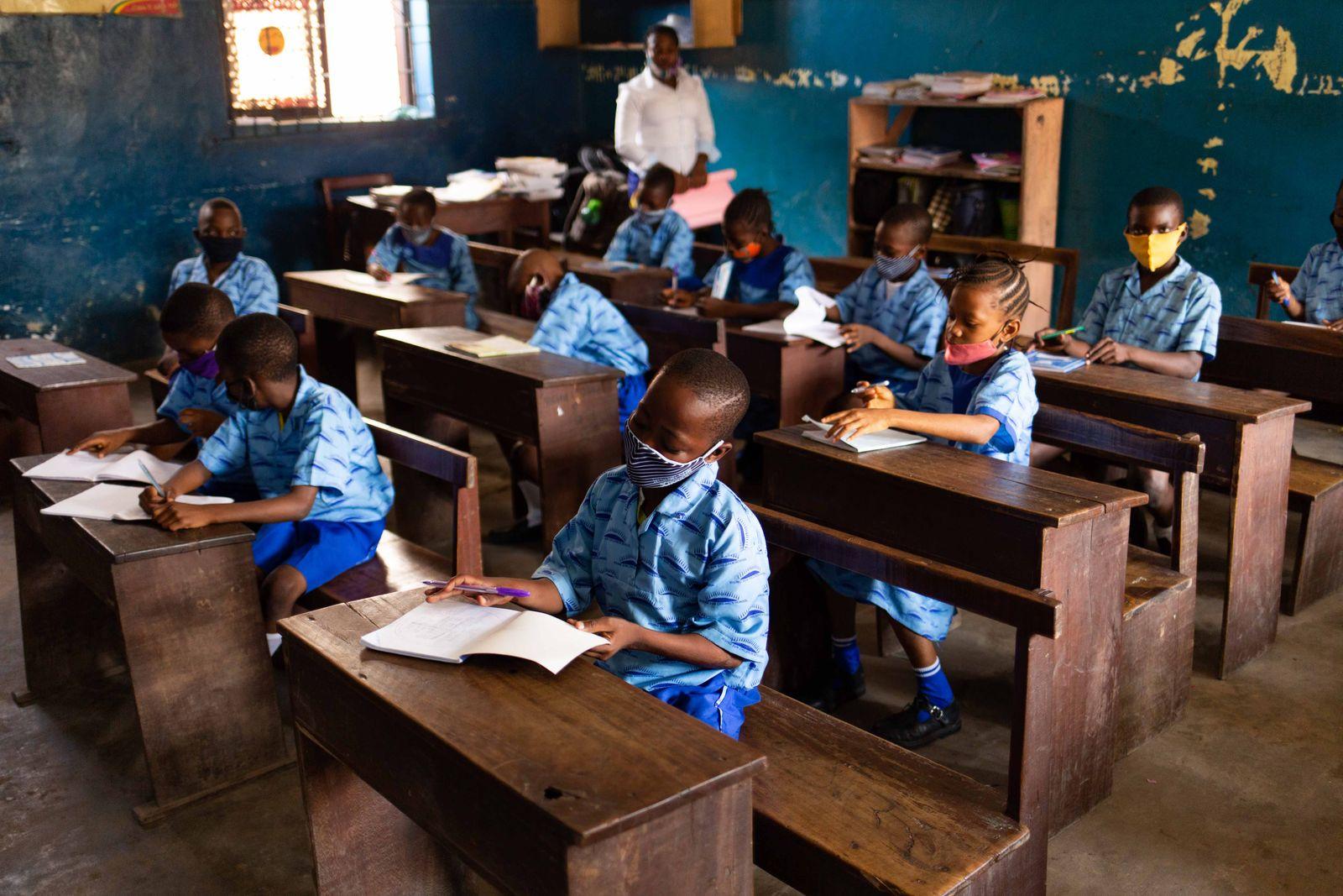 NIGERIA-HEALTH-VIRUS-EDUCATION