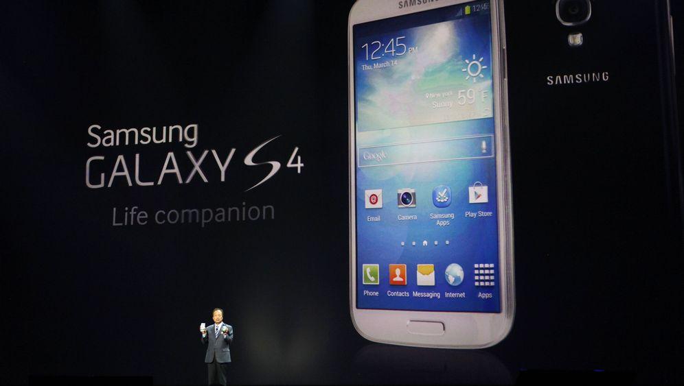 Neues Handy: Samsung zeigt das Galaxy S4