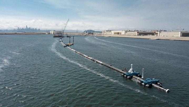 """""""The Ocean Cleanup"""": Ein Plastikstopper für das Meer"""