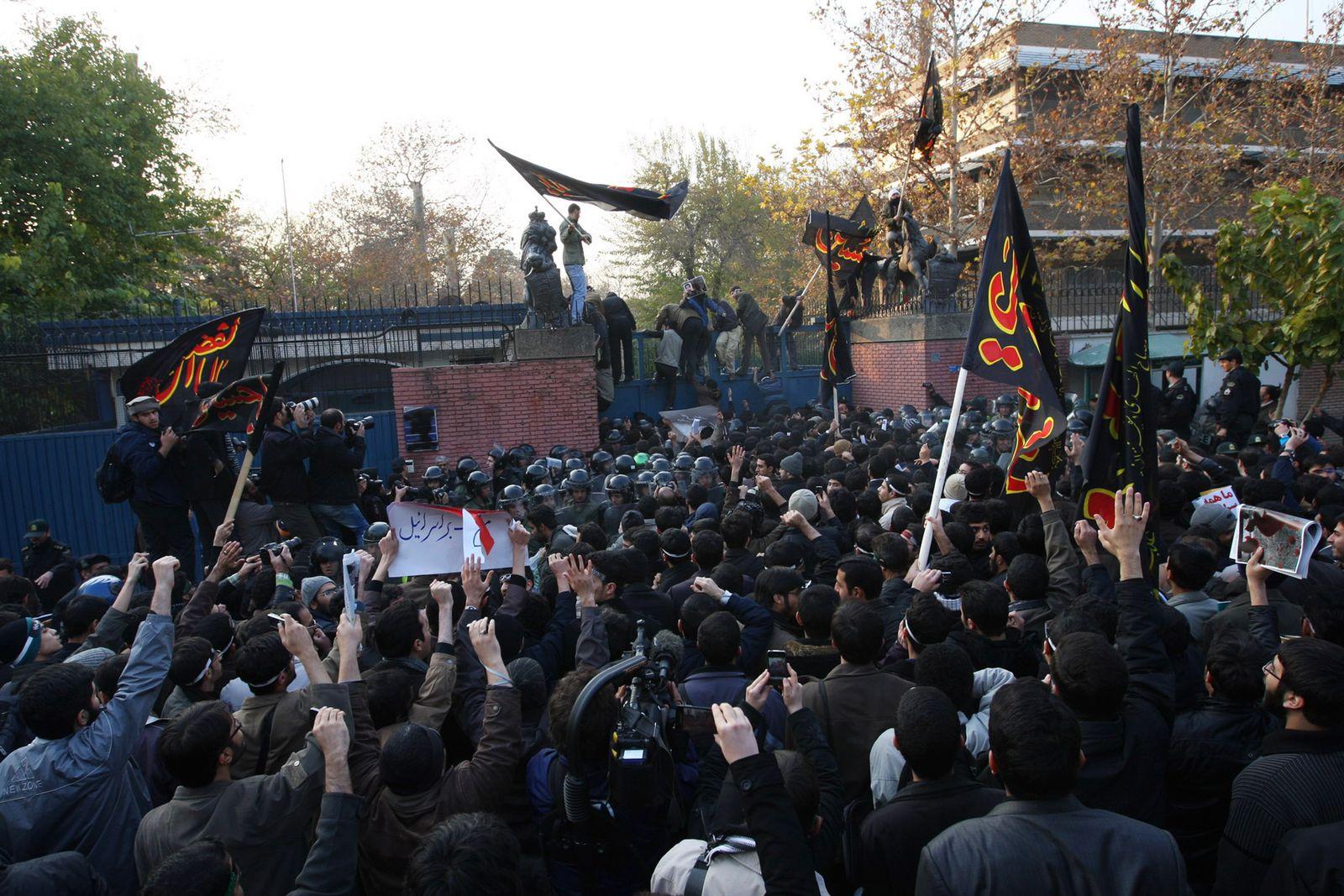 Britische Boschaft Teheran