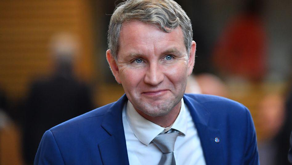 Thüringens AfD-Landeschef Björn Höcke