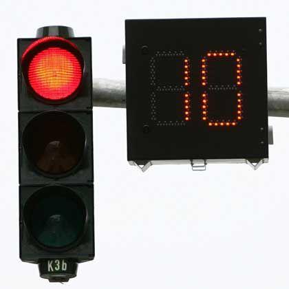 Restzeitampel: In Hamburg erhalten Autofahrer einen Countdown beim Warten an der Kreuzung