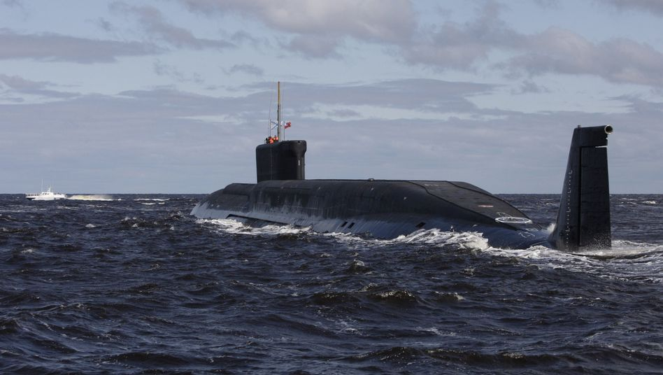 "Russisches U-Boot ""Yuri Dolgoruky"" (Archivbild): Nordatlantik unter besonderer Beobachtung"