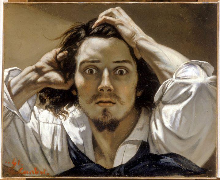 """Ein Selbstportrait, das eigentlich Eigenwerbung ist: Gustave Courbets Gemälde """"Le Désespéré"""""""