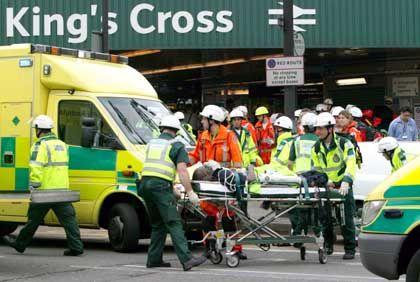 Terror in London: Verletzte nach der Explosion