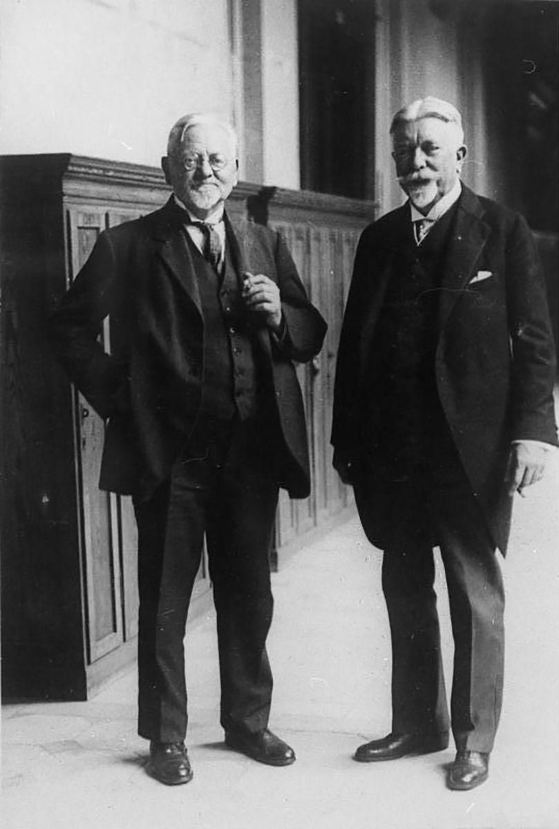 August Parsevall und Johann Sch¸tte