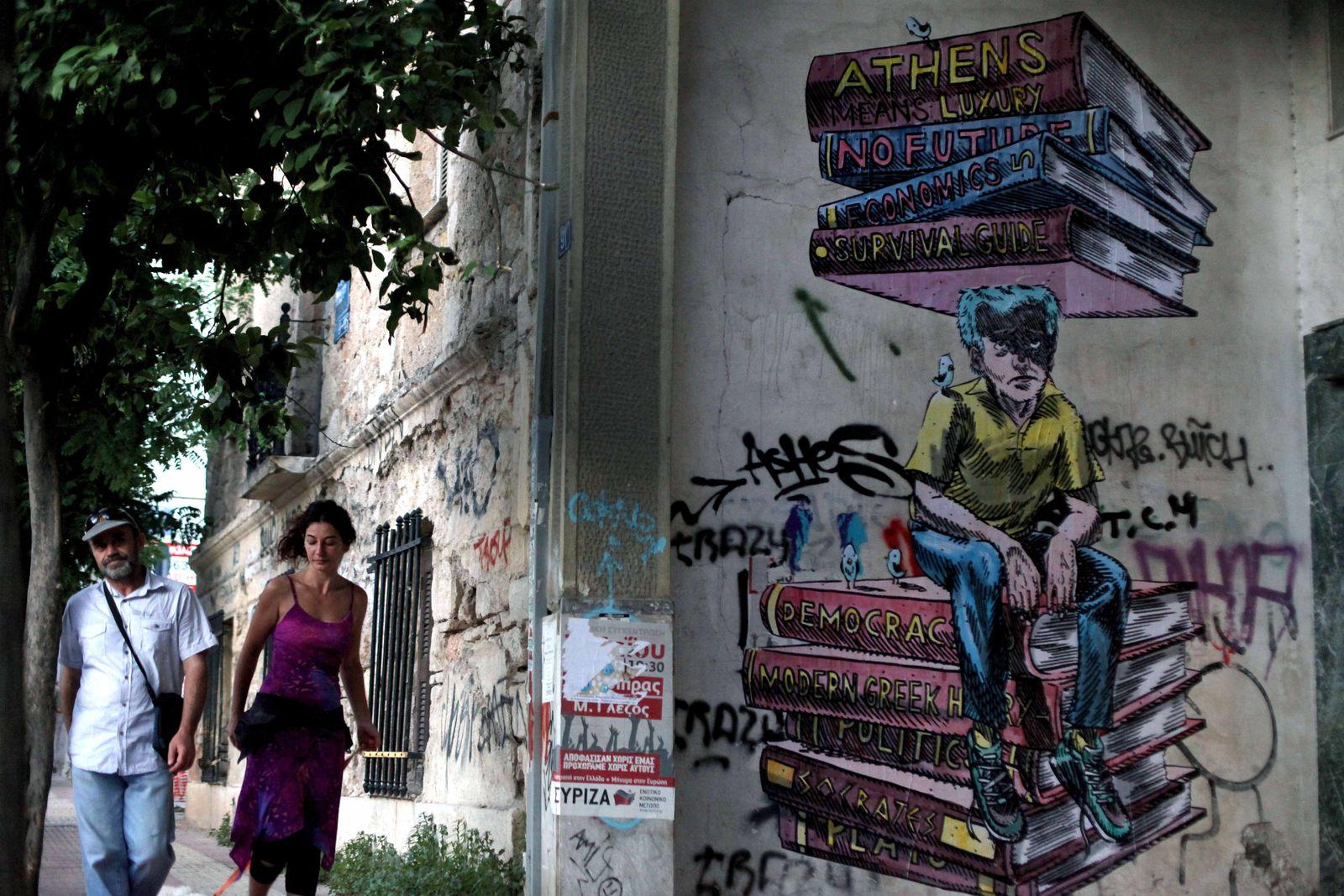 Griechenland/ Athen/ Graffiti