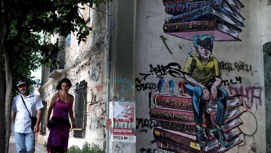 Tristesse in Athen: Die Bürger wollen nicht noch mehr Einschnitte hinnehmen