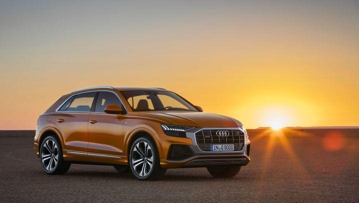Vorstellung Audi Q8: Schräg zum Erfolg