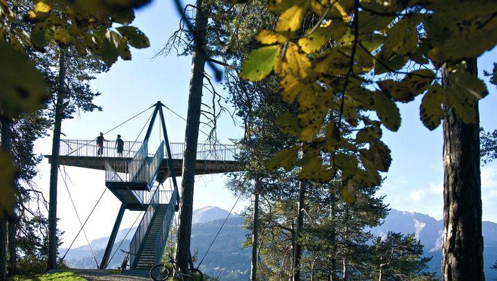 Skywalks in den Alpen: Nichts für Höhenschisser