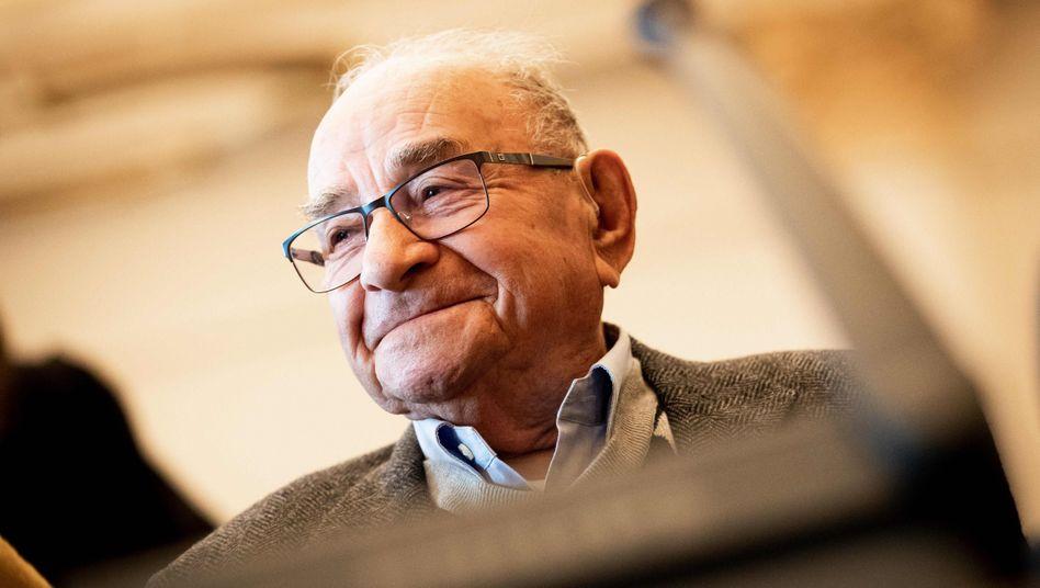 Abraham Koryski: Der 92-Jährige ist aus Israel angereist, um als Zeuge auszusagen