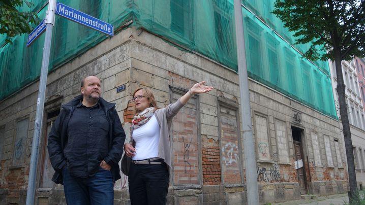 Uwe Schwabe und Katrin Walther heute