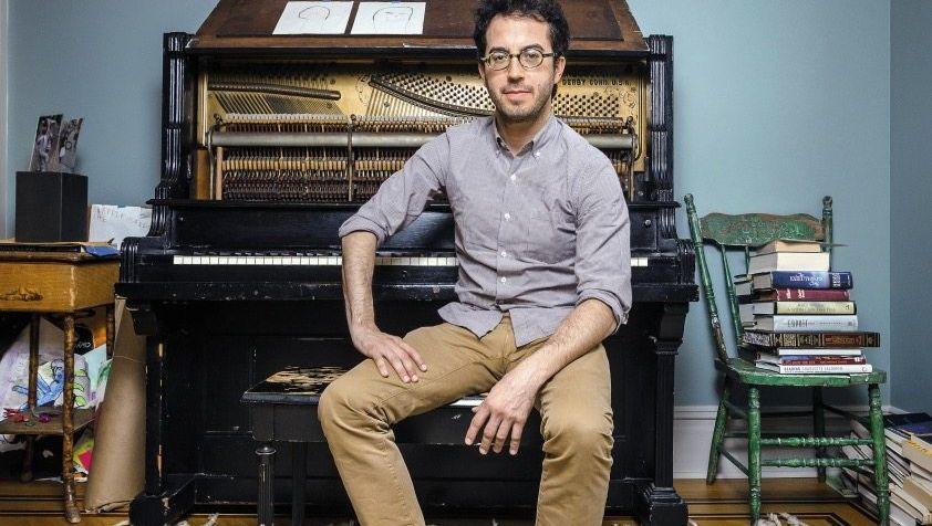 Schriftsteller Foer in seinem Haus in Brooklyn