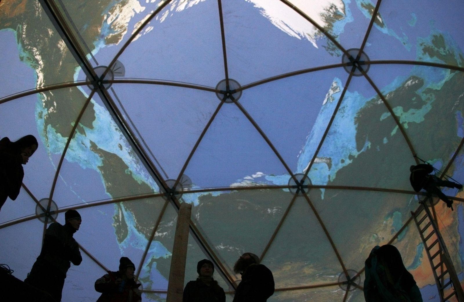 Globus Model / Greepeace / Klimawandel