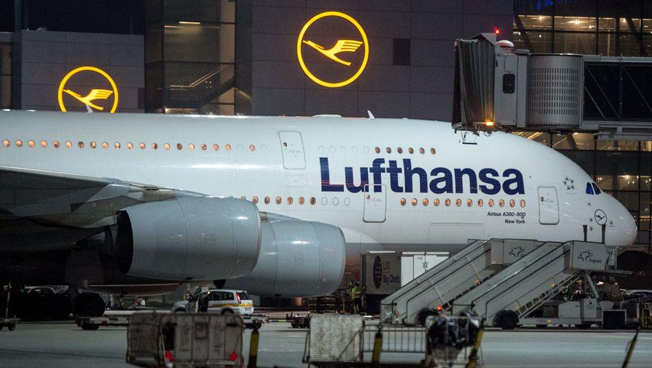 Lufthansa-Airbus A380-800 (Archiv)
