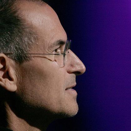 """Apple-Chef Steve Jobs: Bekannte Farbe, nachdem die Gerüchte um Apples """"Kill-Switch"""" nicht verstummen wollten"""