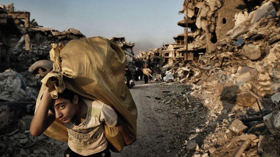 Zerstörtes Homs 2014: »Kniet nieder, unterwerft euch!«
