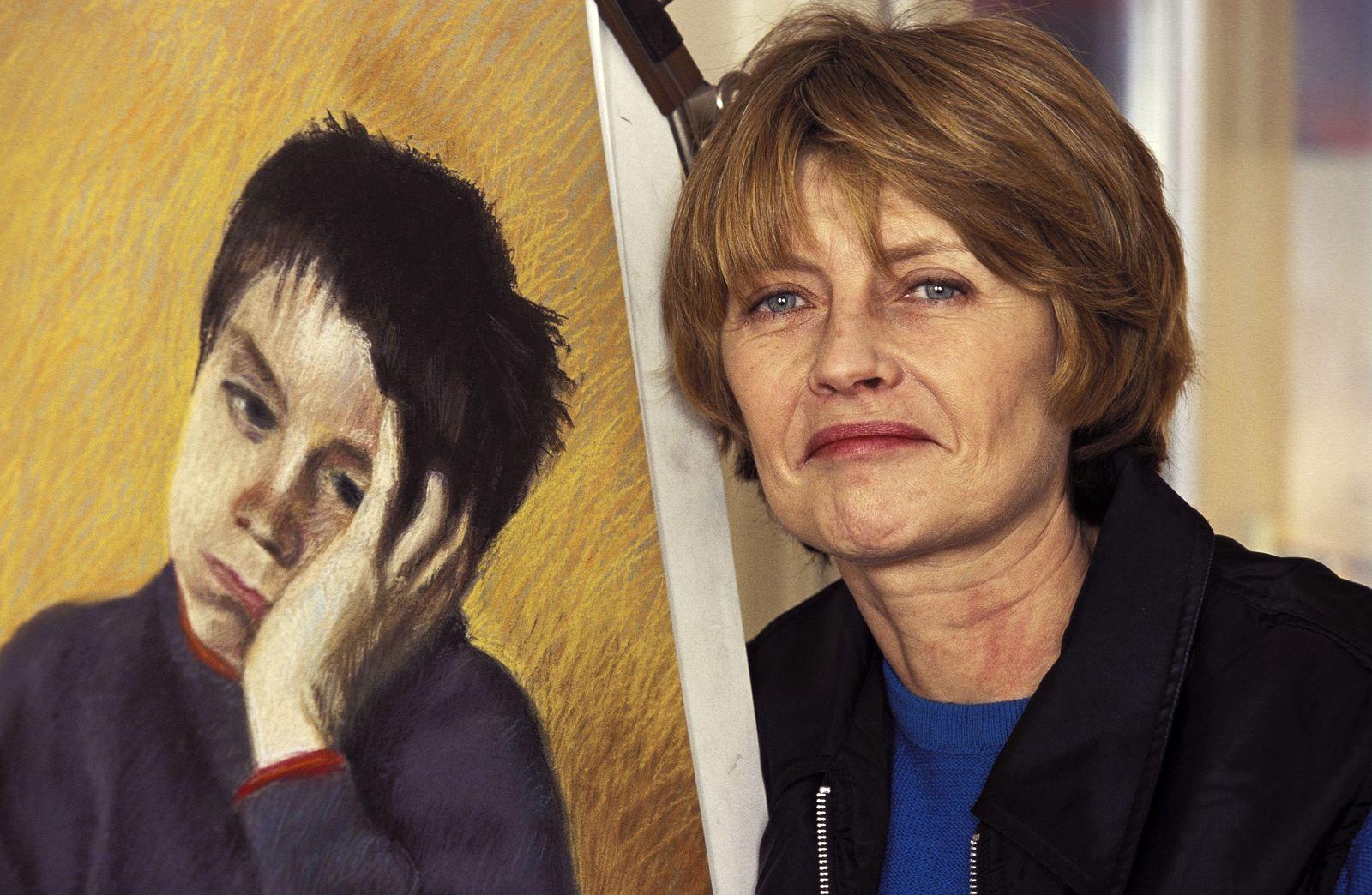 """Les Etats D'Art de La B.D."" At Coprim Foundation In Paris, France On January 01, 1997."