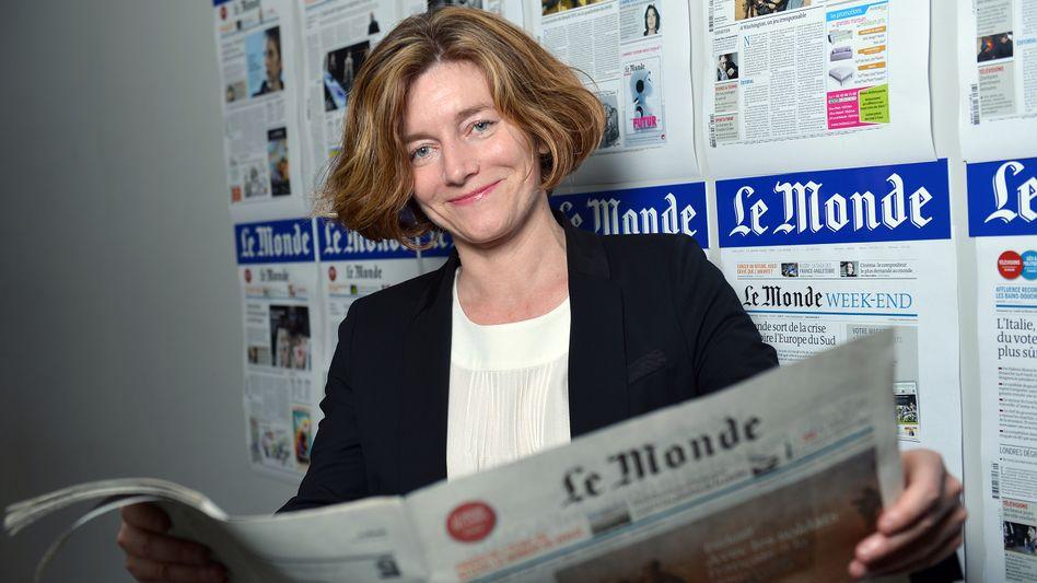 """""""Le Monde""""-Chefredakteurin Nougayrède: Journalisten beklagen """"ein Fehlen von Vertrauen"""""""