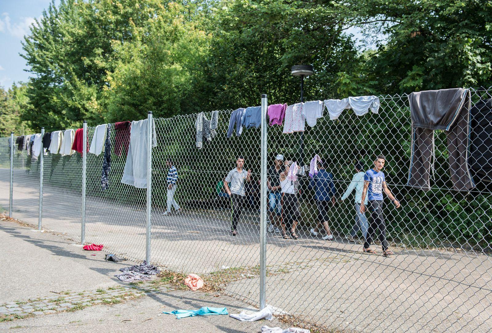 Landeserstaufnahmeeinrichtung für Flüchtlinge in Ellwangen