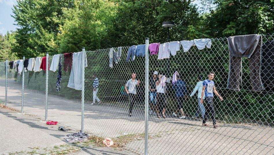 Flüchtlinge in Ellwangen (Baden-Württemberg): Menschenwürdiges Existenzminimum