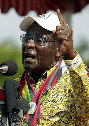 Simbabwes Präsident Mugabe: Das Land platt gemacht