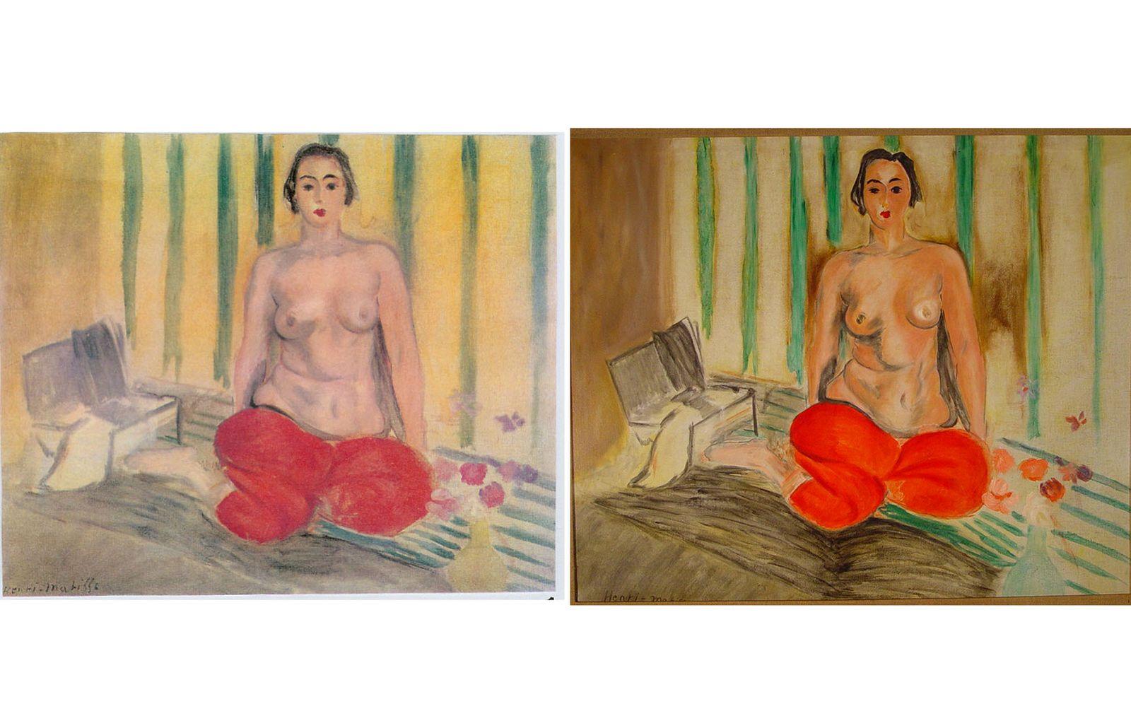Matisse/ Odalisque in Pants