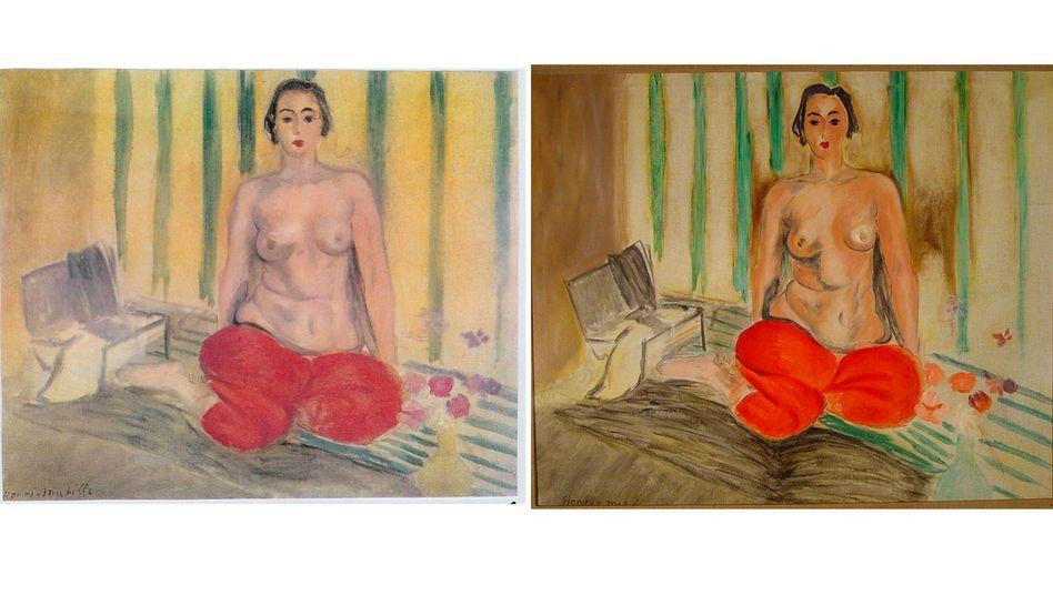 """Matisse-Gemälde """"Odaliske mit roter Hose"""": Gestohlenes Original aus dem Jahr 1925"""