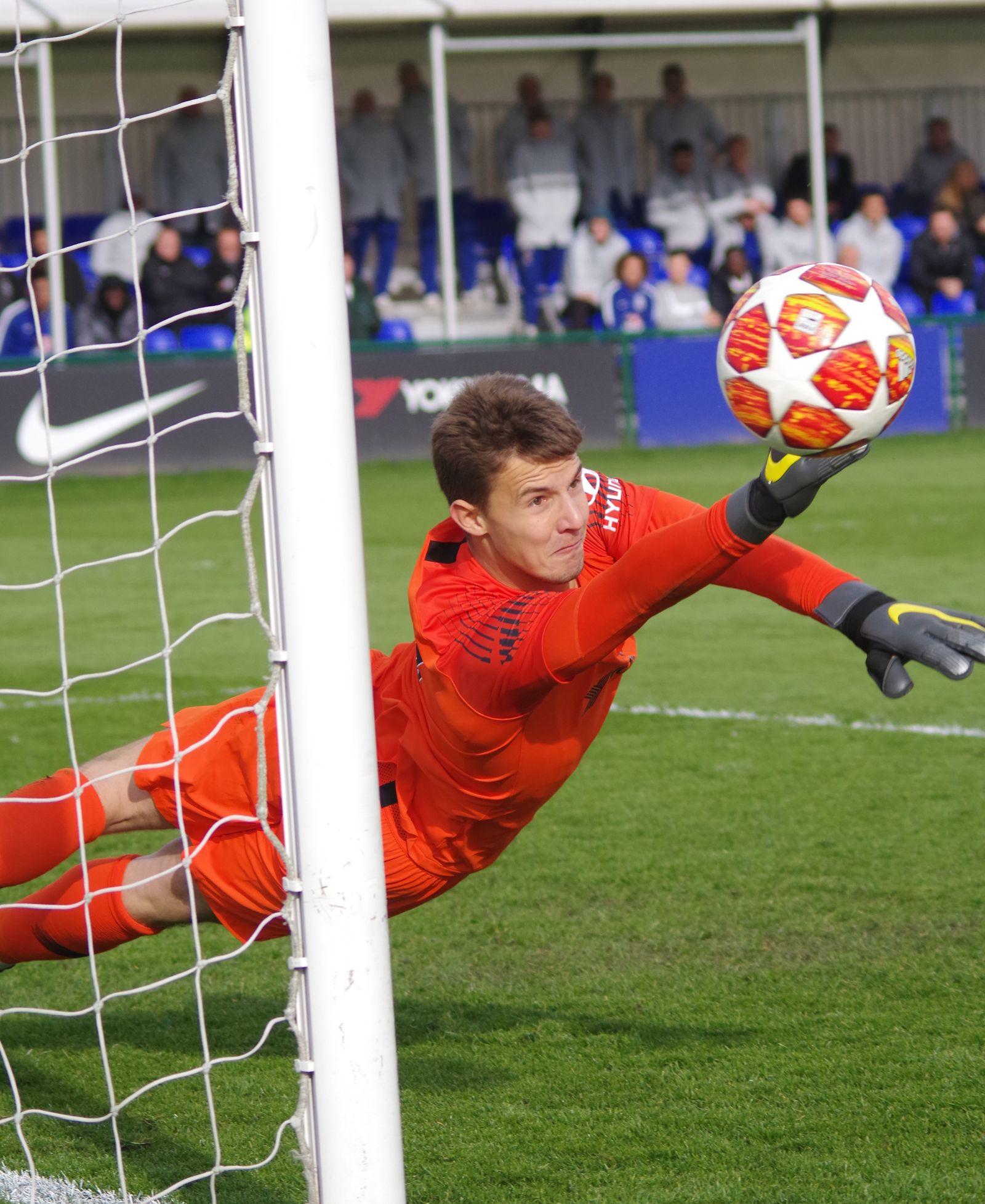 EINMALIGE VERWENDUNG Uefa Jugend Viertelfinale Chelsea v Dinamo Zagreb