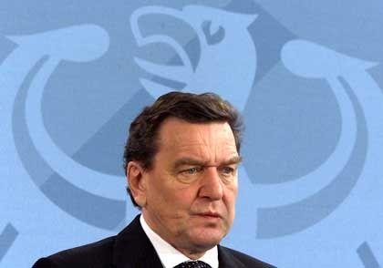 Bundeskanzler Schröder: Waffenstillstand in Nahost und Rückzug israelischer Truppen