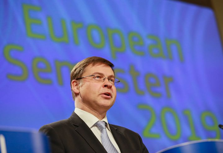 EU-Kommissionsvizepräsident Valdis Dombrovskis