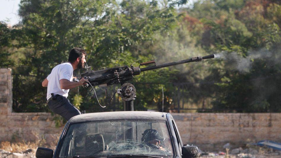 FSA-Rebell in Aleppo: Unterstützung für den Kampf gegen Assad