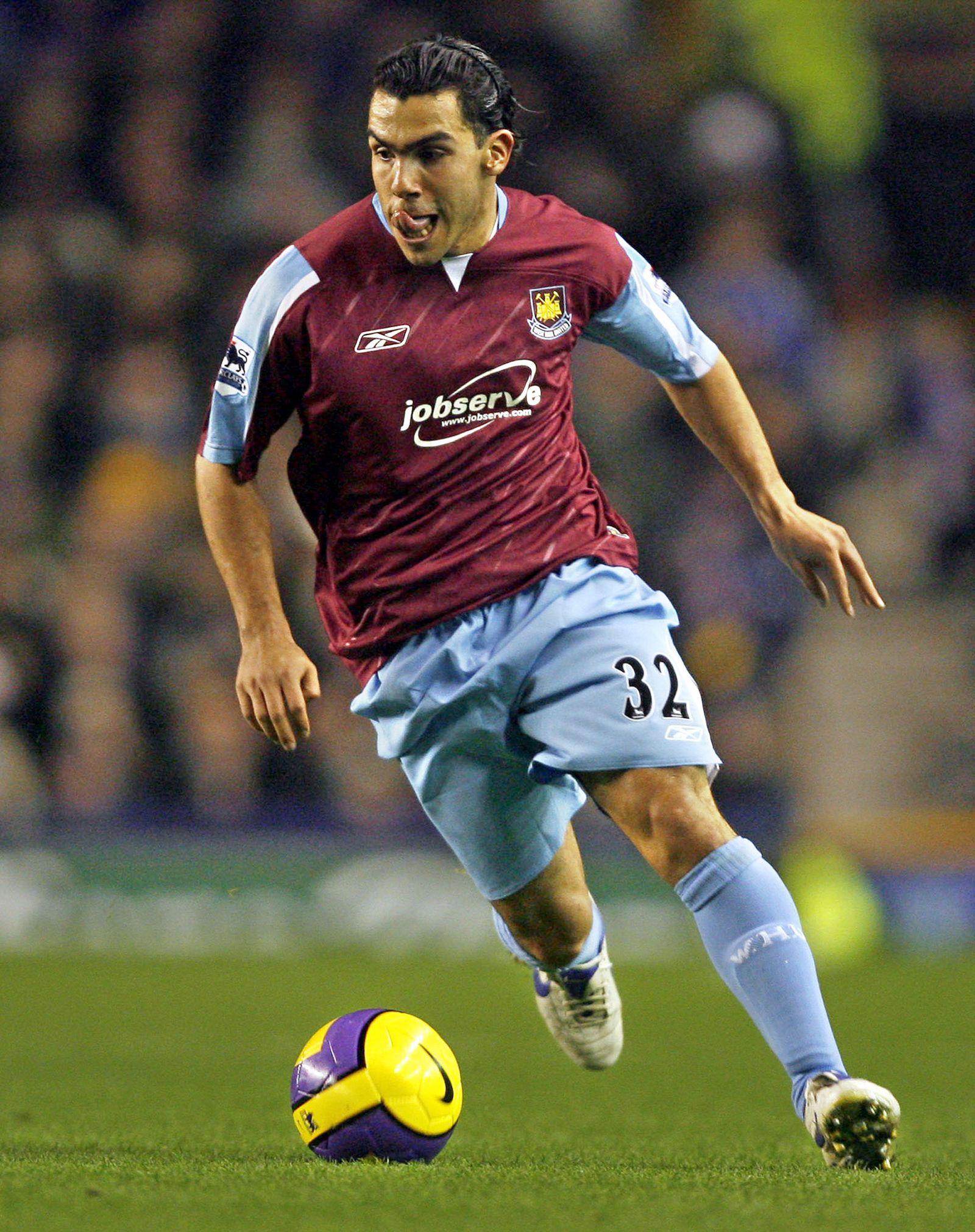 Carlos Tevez/ West Ham