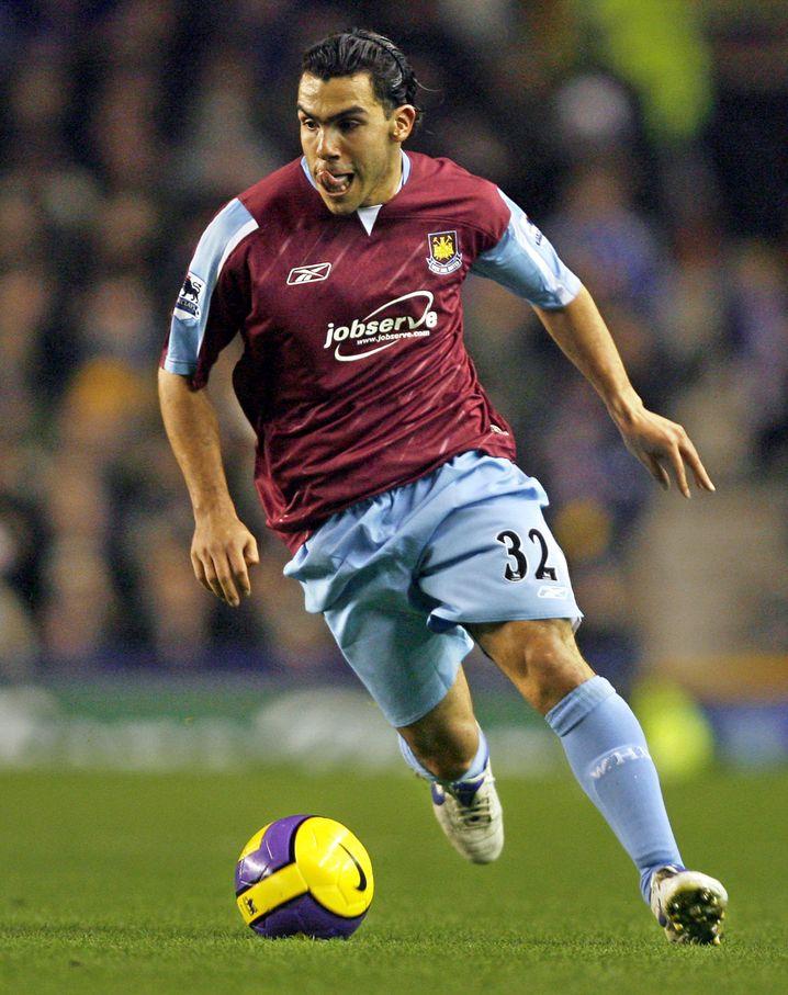 2006 wechselte Tevez zu West Ham United