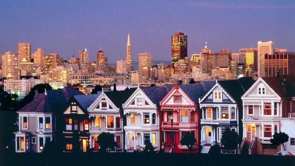 Skyline von San Francisco: Die enormen Mieten machen mittlerweile auch Tech-Unternehmen zu schaffen