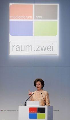 """Wettbewerbskommissarin Neelie Kroes: """"Ich werde gegen Wettbewerbsverzerrungen kämpfen"""""""