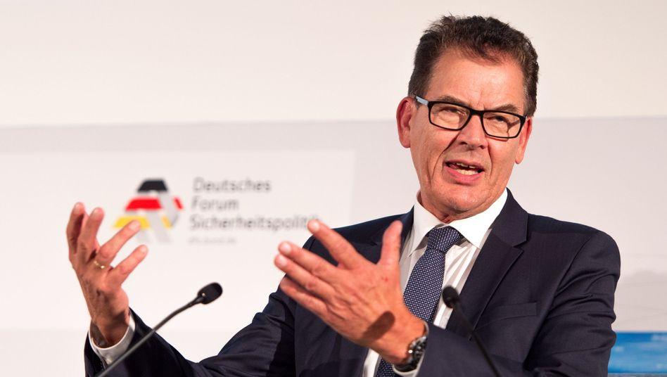 Entwicklungsminister Gerd Müller (CSU)