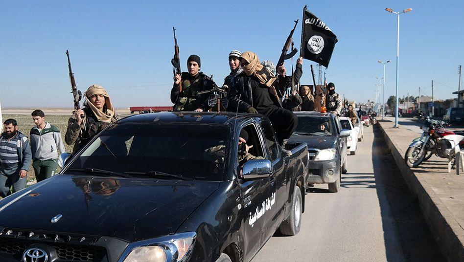 """IS-Kämpfer im Osten Syriens: """"Das wird eine gewaltige Gefahr"""""""