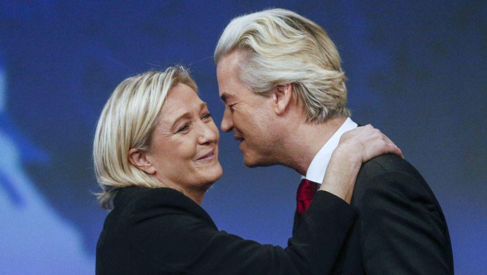 Rechtspopulisten Le Pen, Wilders